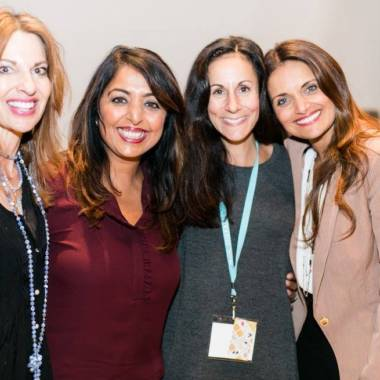 Sandra Fazio with Dr. Shefali and Friends (2)