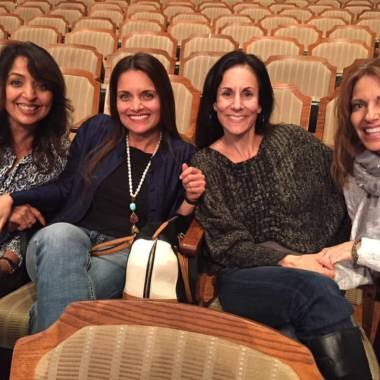 Sandra Fazio with Dr. Shefali and Friends